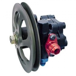 KRC Cast Power Steering Pump with V-Pulley