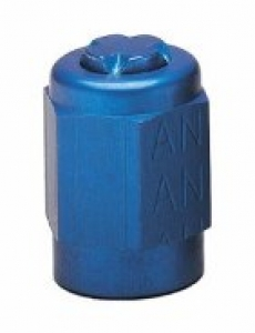 Alum AN Tube Cap