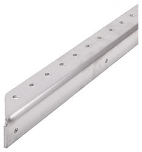 Drilled Aluminum Angle, 90 Degree