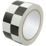 "Racers Tape Checkered 2""x45'"