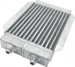 Deck mount oil cooler