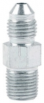 "Steel Adapter -4 To 1/8""NPT Straight (2-Pack)"