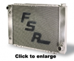 FSR Triple Pass Radiator Chevy 27.5x19""