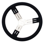 "17"" Steering Wheels 3"" Dish (black)"