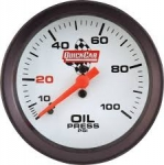 Quickcar Oil Pressure Gauge 0-100psi