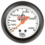 Quickcar Oil Temp Gauge 2 5/8""