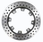 "US Brake Drilled Rotor 11.75""x1.25"""